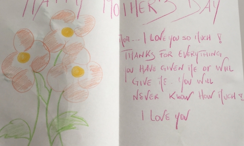 Mother's Card